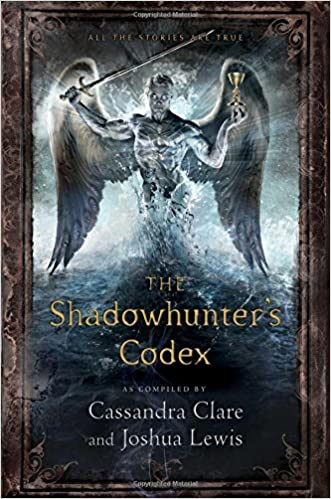 Resultado de imagen de portada the shadowhunter's codex