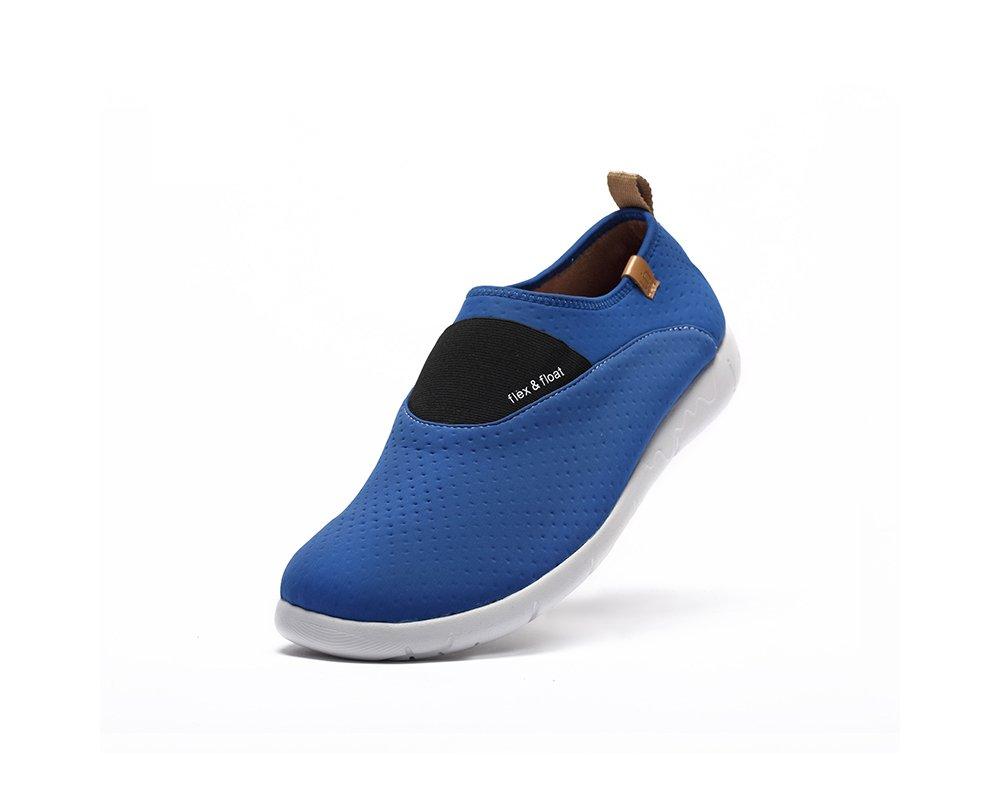 UIN Men's Sintra Lycra Travel Loafer Shoe Blue (8)