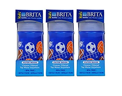 Brita Soft Squeeze Water Filter Bottle For Kids