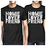 Best 365 Printing Friend Matching Gifts - 365 Printing Homie Lover Friend Black Matching Couple Review