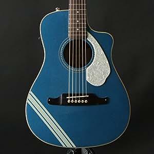 fender malibu mustang cutaway electric acoustic guitar lake placid blue musical. Black Bedroom Furniture Sets. Home Design Ideas