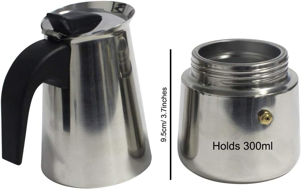 Amazon.com: 6-Cup Stovetop Espresso Maker Italian Moka ...