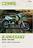 Kawasaki KX250, 1992-2000, Clymer Publications Staff, 0892878673