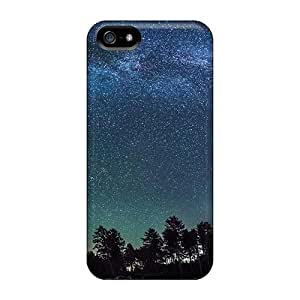 Premium Durable Starry Galactic Sky Fashion Tpu Iphone 5/5s Protective Case Cover