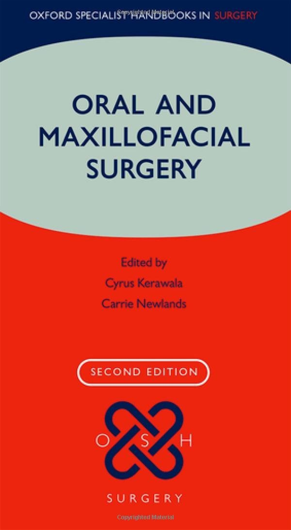 Oral And Maxillofacial Surgery  Oxford Specialist Handbooks In Surgery