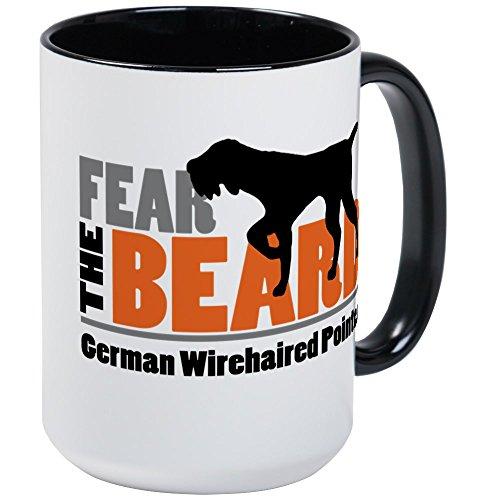 CafePress Fear The Beard GWP Mugs Coffee Mug, Large 15 oz. White Coffee Cup