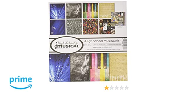REMBC HSM-200 High School Musical Scrapbook Collection Kit Multi Color Palette Reminisce