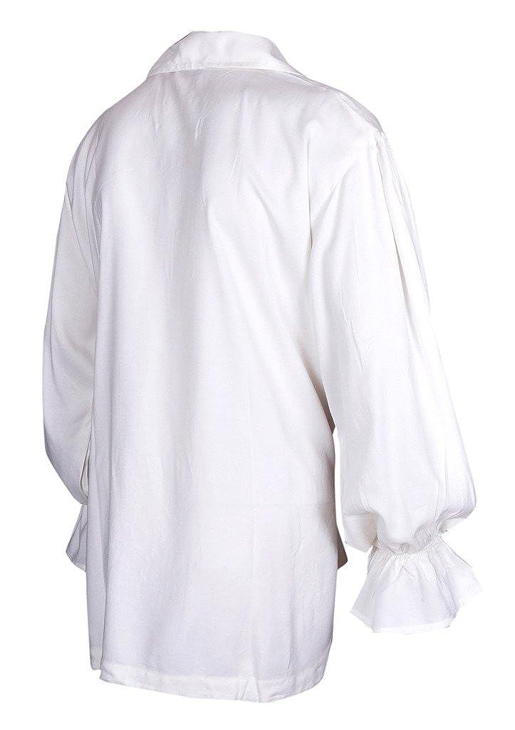 Rinascimento Casuale Shirt Estate Pirate Costume Medioevale Uomini Diff Colori Tutte Le Dimensioni