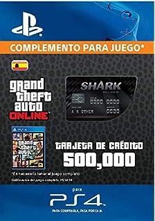 Grand Theft Auto Online - GTA V Cash Card | 1,250,000 GTA-Dollars | Código de descarga PS4 - Cuenta Española: Amazon.es: Videojuegos