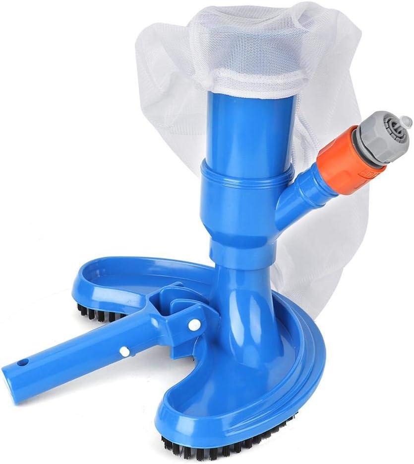 Hongzer Limpiador de Piscinas, Kit de Mantenimiento de Limpieza con Cepillo de vacío para Piscinas Juego de Herramientas de Limpieza de limpiadores