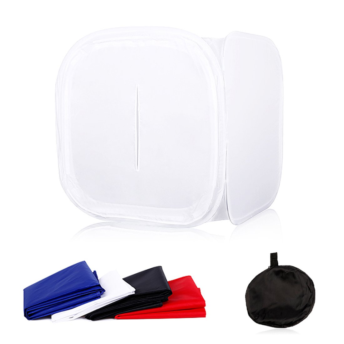 Table Top Photo Studio Mini Softbox 16x16 inch (40x40cm) Foldable Light Shooting Tent Cube Soft Box for Photography by Konseen
