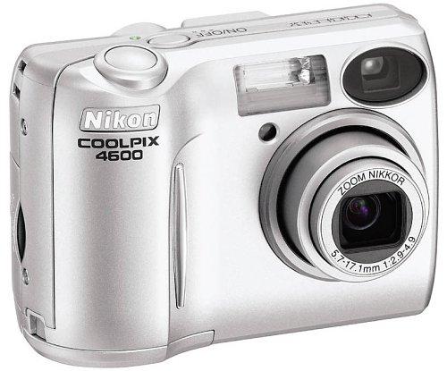 amazon com nikon coolpix 4600 4mp digital camera with 3x optical rh amazon com Nikon Coolpix Owners Manual 2000 Nikon Coolpix L20