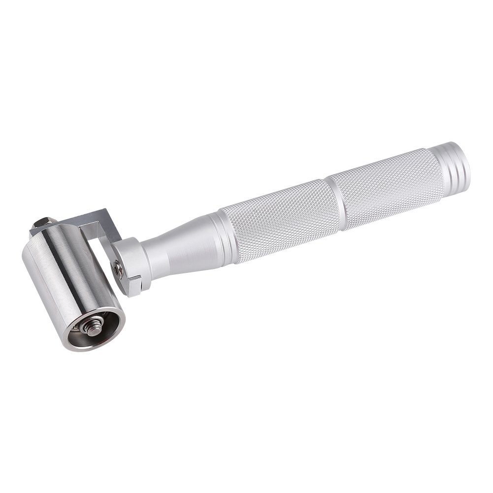 Wallpaper Pressure Roller,Acogedor Stainless Steel Wallpaper Seam Roller for Ordinary Wallpaper, PVC Thickened Wallpaper, Non-Woven Fabrics, Wallpaper, Gold Foil Wallpaper.
