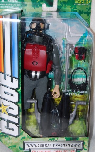 GI JOE 12 INCH MILITARY FIGURE - COBRA EEL (Cobra Eel)