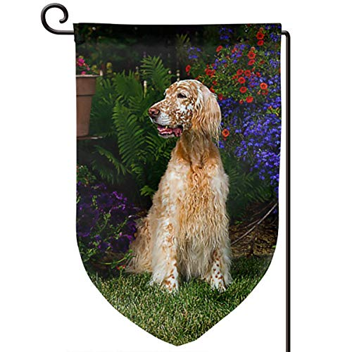 Afghan Hound Dog Car Decoration - Blue Carriage Baby Buggy Design On Burlap Banner - 12x18 - Home One Size ()