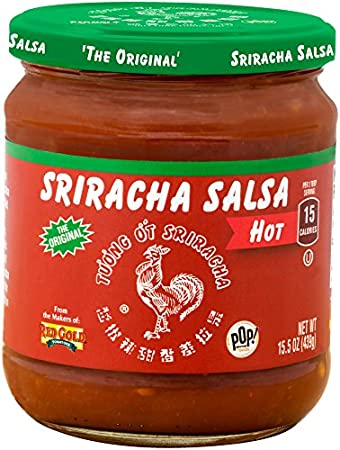 Huy Fong Sriracha Hot Salsa (Pack of 8)