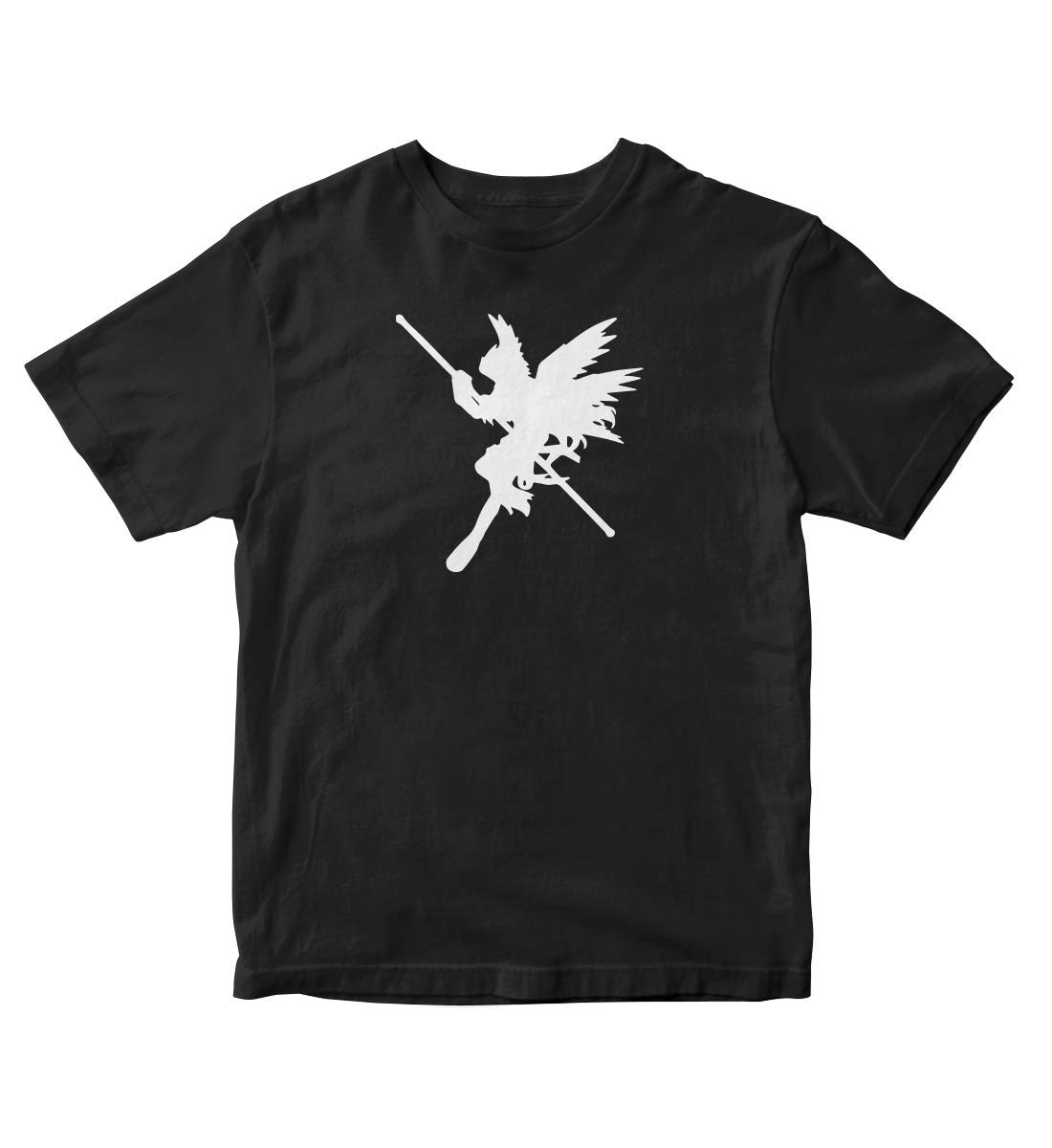 Patamon Digivolution Angemon Digimon Manga Anime Black Shirt S 73