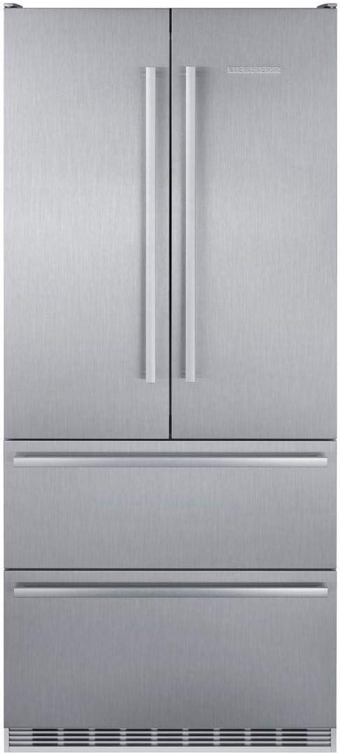 Liebherr CS2082 Counter Depth French Door Refrigerator in Stainless Steel