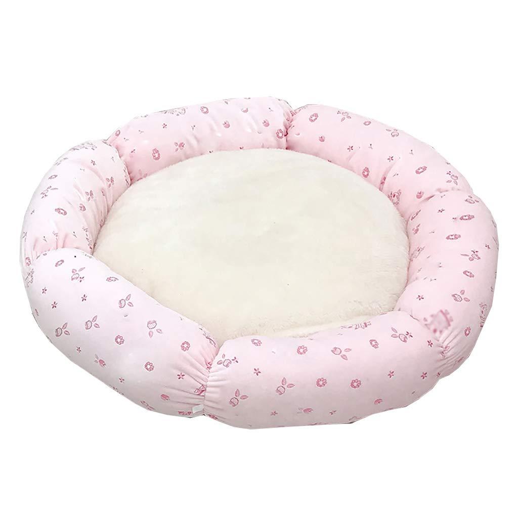 56cm Soft Warm Pet Dog Cat Bed House Plush Cozy Nest Mat Pad Cushion Cave