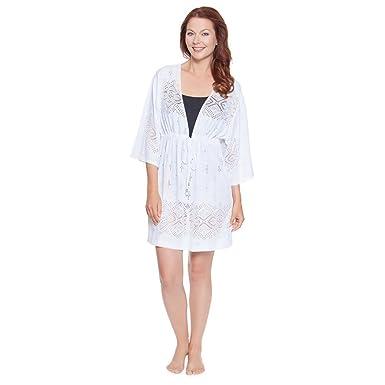 9b3b21953f8ea Dotti Kimono Tunic Large at Amazon Women s Clothing store