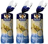 Quaker Plain Unsalted Rice Cake, 4.47 oz, 3 pk
