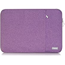 "Laptop Sleeve Case 13.3 inch, Egiant Fabric Waterpoof Protective Bags for Macbook Pro 13 /Mac Air 13/Surface Book/HP Stream 13 & 12.5-13""Acer Samsung Asus Dell Toshiba Chromebook Computers-Purple"