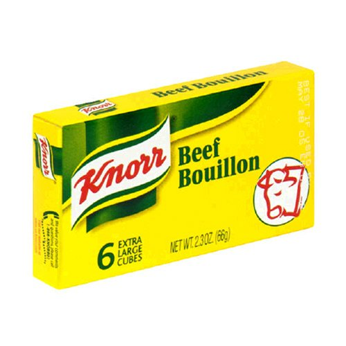 (Knorr Bouillon Beef, 2.3-Ounce Packages (Pack of)