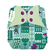 bumGenius Freetime All-in-One One-Size Snap Closure Cloth Diaper (Equiano)