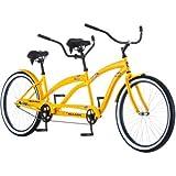 "26"" Kulana Lua cruiser spring saddles Tandem Bike tandem frame oversized fork NEW"