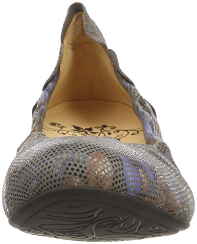5 Women''s 5 Flats kombi Uk Ballet Balla 23 Beige kred Think 282980 zdqOwOS