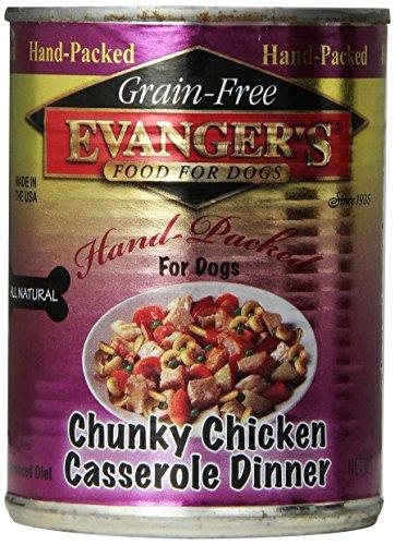 Evangers Evanger`s Chunky Chicken Casserole Dog Food, 12-...