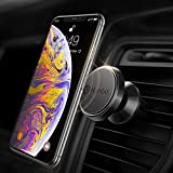 Humixx Magnetic Phone Car Mount, 360° Adjustable Air Vent Cellphone Car Holder Compatible with iPhone X 8 8 Plus 7 7 Plus,Samsung S9 S8, HTC, LG, ZTE [Easy Clamping Series] (Black)