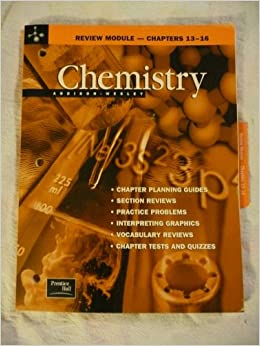 Chemistry Review Module--Chapters 13-16: 9780130548528