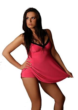 Nine X Women/'s Beautyfull Dress Plus Size Lingerie 10-24 Babydoll Pink