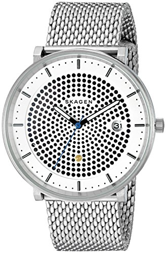 Skagen Men's SKW6278 Hald Stainless Steel Mesh Analog Quartz Casual Watch from Skagen