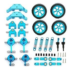 wivarra RC Car Metal Upgrade Parts for 1:28 K969 K989 RC Car Parts Remote Control Toys Part Accessories