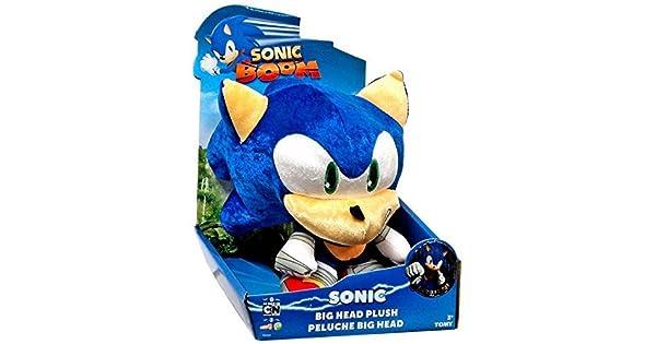 Amazon.com: Sonic The Hedgehog Sonic Boom Metallic Sonic Big Head 8