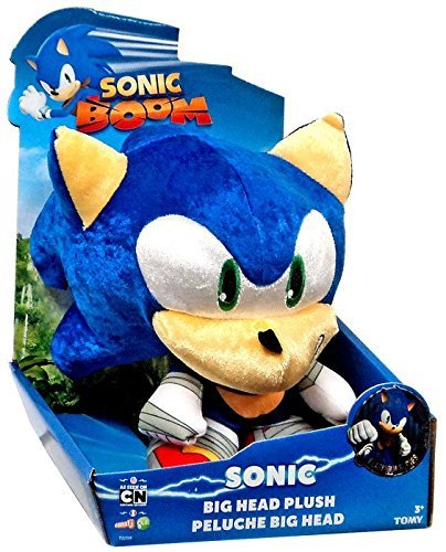 Amazon.com: Sonic The Hedgehog Sonic Boom Metallic Sonic Big Head 8