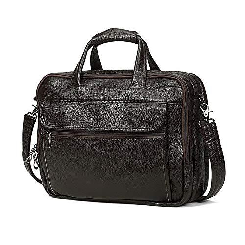 Women per Durable laptop Tlmydd and Travel Storage con Men Briefcase borsa Shoulder Large Business Extendable Messenger Coffe HWUZIq