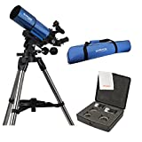 Meade Infinity 80mm Refractor w/ Travel Bag & Eyepiece Accessory Kit
