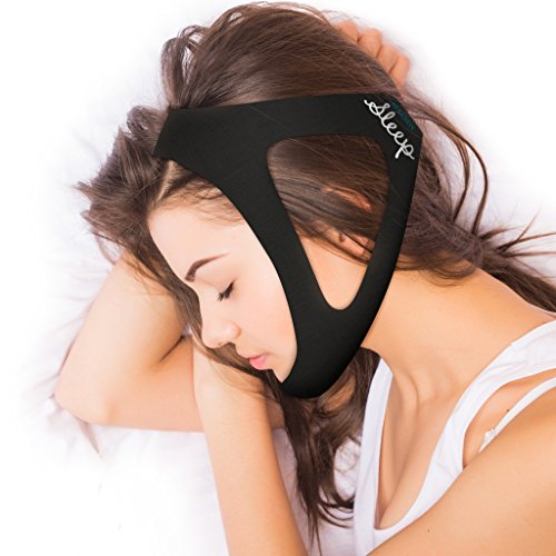Serenity Sleep Adjustable Stop Snoring Chin Strap Natural and Instant Snore Relif (Long, Fits large)