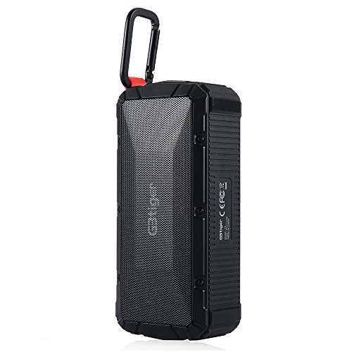 GBtiger Wireless Speaker Stereo Bluetooth Outdoor Speaker with Carabiner from GBTIGER