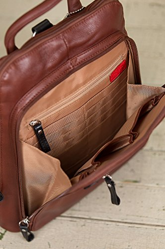 Macy Leather Backpack Purse by Overland Sheepskin Co (Image #9)