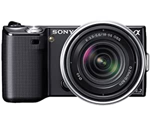 Sony NEX-5RK/B 16.1 MP Mirrorless Digital Camera with 18-55mm Lenses (Black)