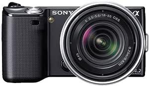 Sony NEX-5RK/B 16.1 MP Mirrorless Digital Camera with 18-55mm Lenses (Black)