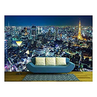 Handsome Expert Craftsmanship, Tokyo Skyline at Night, Created Just For You