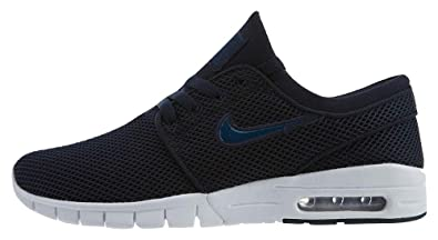 100% top quality good selling latest Amazon.com | Nike SB Mens Stefan Janoski Max Shoes Obsidian ...