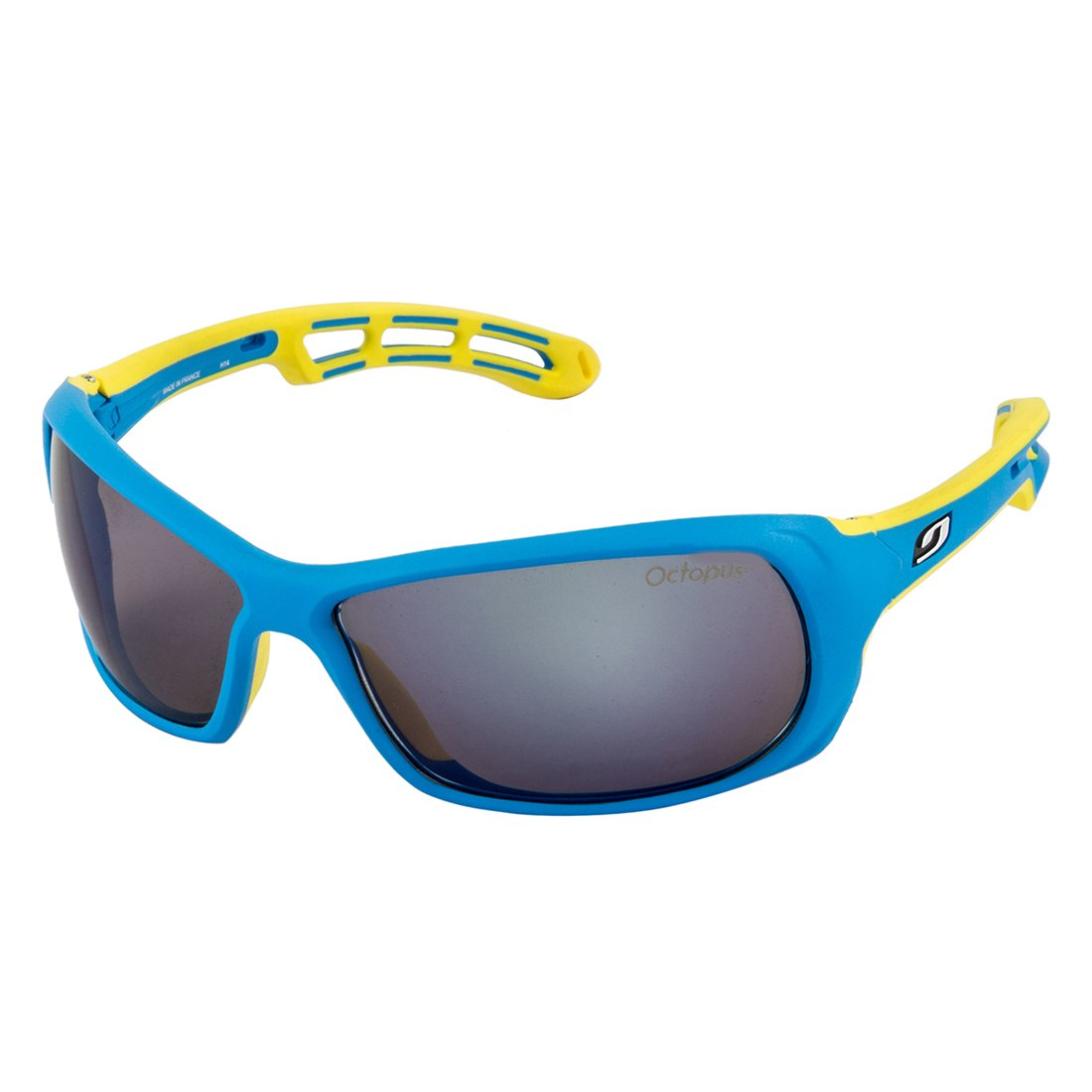 Julbo Swell Sunglasses Octopus multi-coloured blue yellow Size Taille L   Amazon.co.uk  Sports   Outdoors 1703d7ebd789