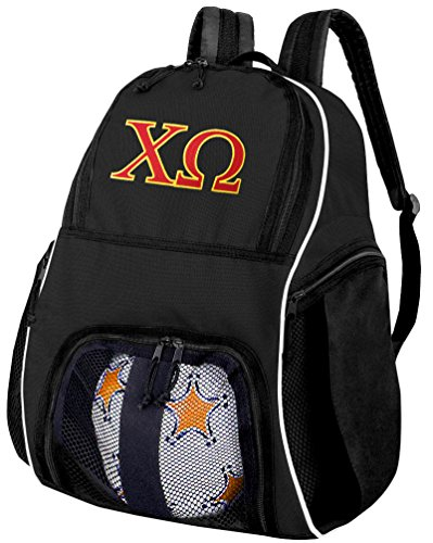 Broad Bay Chi Omega Soccer Backpack or Chi O Volleyball Bag by Broad Bay