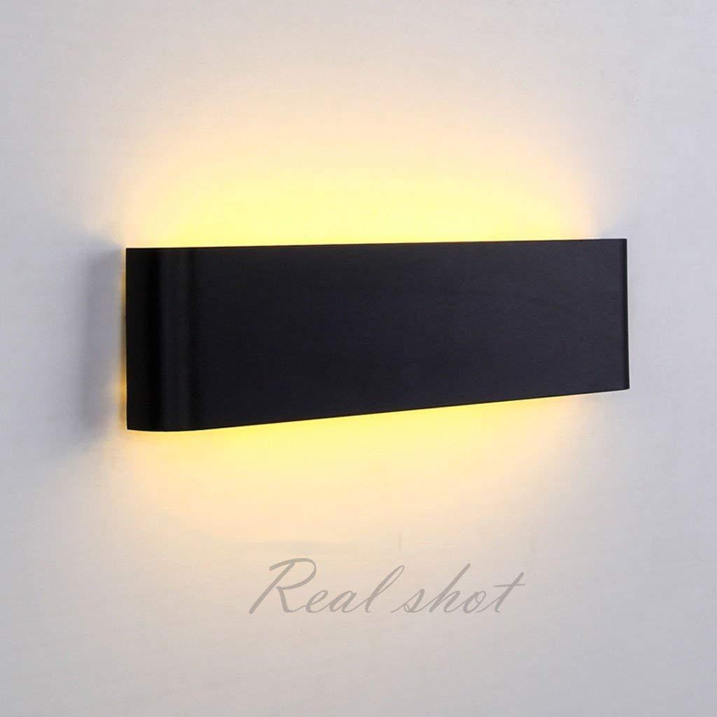 Mirror Lamps Home Einfache LED Wandleuchte Wohnzimmer Schlafzimmer Korridor Moderne Persönlichkeit Hotel TV Hintergrund Wandleuchte (Farbe   31  8.5)